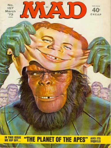 MAD MAGAZINE # 157 March 1973 (Planet of Apes Cover, #157)
