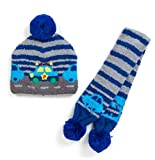 Sanrio The Ranabautsu kids knit hat and scarf set From Japan New
