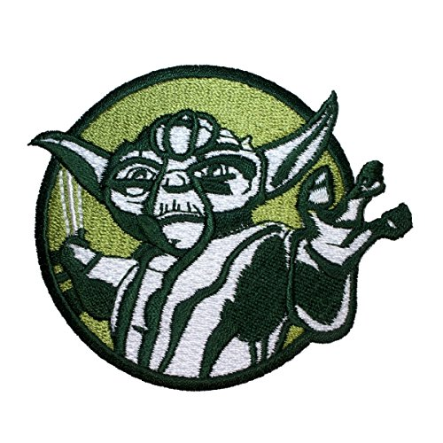 Application Star Wars Clone Wars Yoda Colors Patch