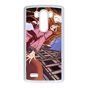 Spice and Wolf Horo Lawrence For LG G3 Case Cell phone Case Emex Plastic Durable Cover