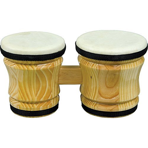 Rhythm Band Bongos Junior 6 in. H x 5 in. and 4-1/4 in. Dia ()