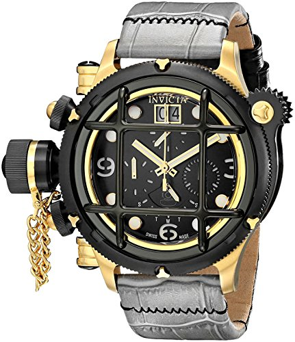 Invicta Men's 17329 Russian Diver Analog Display Swiss Quartz Grey Watch