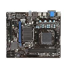 MSI Computer 760GM-P23 (FX) AMD 760G Plus SB710 Micro ATX DDR3 1333 AMD-AM3-Plus Motherboard