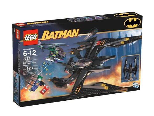 Lego Batman   The Batwing  The Jokers Aerial Assault