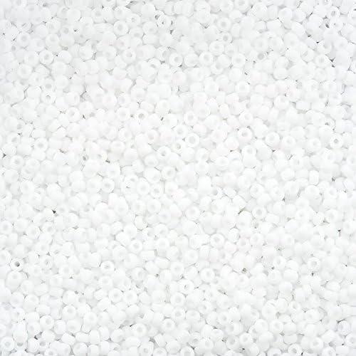 MIYUKI GRAINE PERLES taille 11//0 OPAQUE ROUGE 10 g