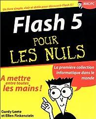 Flash 5 pour les nuls par Gurdy Leete