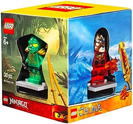 LEGO 4 Minifigures Boxed Gift Set - Chima, Superheroes ...