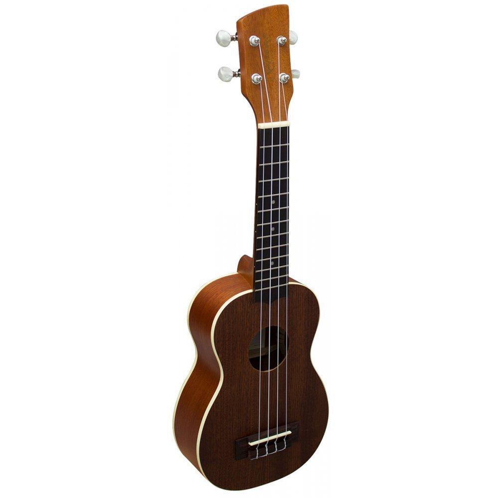 Brunswick - Ukelele soprano (madera de caoba, con cuerdas de Nylgut de Aquila): Amazon.es: Instrumentos musicales