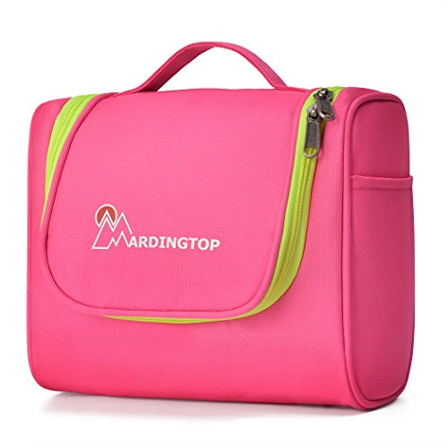 Mardingtop Kulturtasche zum Aufhängen Reise Kulturbeutel für Frauen Männer Kosmetiktasche mit Henkel