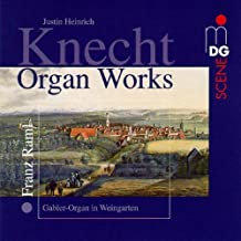 Organ Works by Knecht