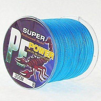 Topwin 300 M PE trenzado cuerda 0.10 mm, 0.12 mm, 0.14 Mm, 0.16 mm, 0.20 mm, 0.235 mm mmseefischerei/pesca con mosca/cebo lanzar/hielo Pesca/Spinning/Spring, 0.16: Amazon.es: Deportes y aire libre