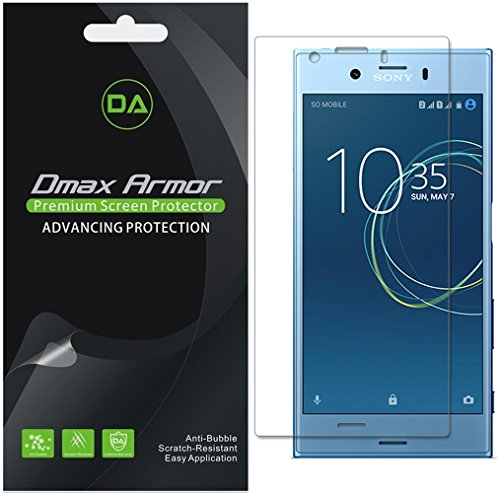 [6-Pack] Dmax Armor for Sony Xperia XZ1 Compact Anti-Glare & Anti-Fingerprint (Matte) Screen Protector - Lifetime Replacement ()