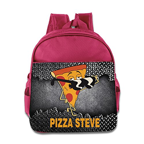 Kids Pizza Steve Uncle Grandpa Small Backpack (2 Color:Pink Blue) - Austin And Ally Costumes For Kids