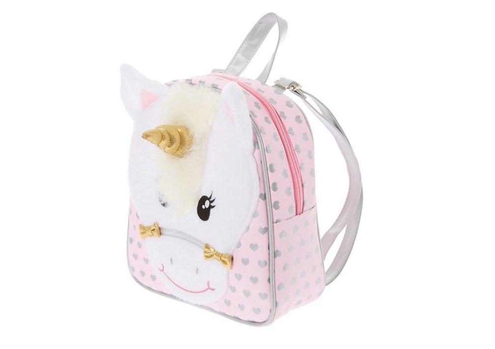 Claires Kids Ariella the Unicorn Small Backpack