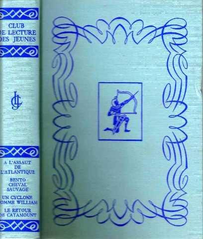 Club de lecture des jeunes, a l'assaut de l'atlantique, bento cheval sauvage, un cyclone nommé william, le retour de catamount (Bento Board)