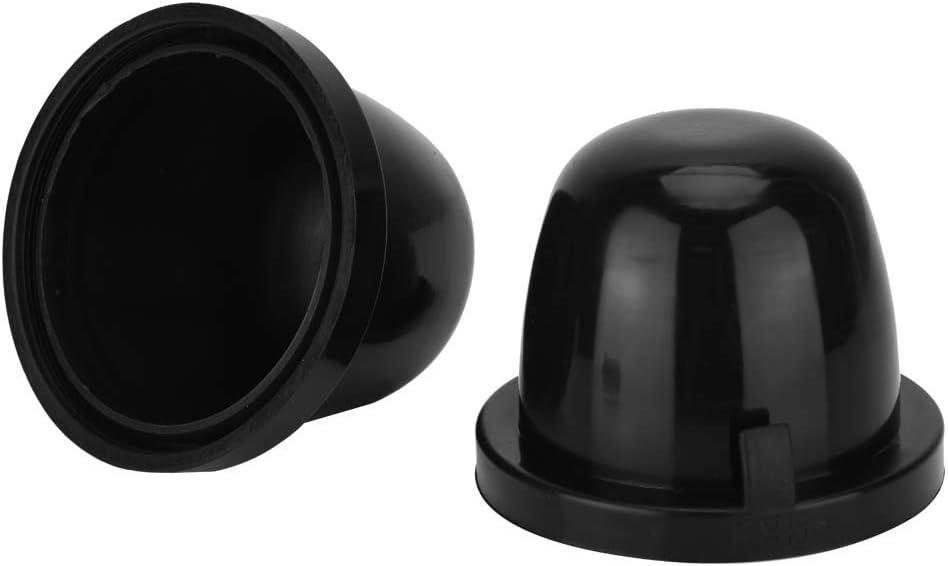 SENZEAL 85mm Scheinwerfer Kappen Staubschutz Gummidichtung Abdeckung f/ür HID LED Schwarz