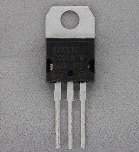 10PCS BDX53C TRANS NPN DARL 100V 8A TO-220 NEW