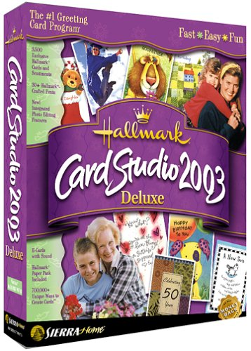 Hallmark Card Studio Deluxe 2003