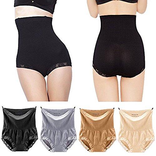 64d8a06c7d6cd Japan Premium Women Shapewear Panties Bodysuit Body Shaper High Waist Tummy  Control Seamless Strapless Slimming Panty Briefs - Buy Online in Oman.