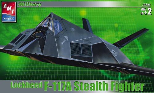 Lockheed F-117A Stealth Fighter Model 1:72 Scale