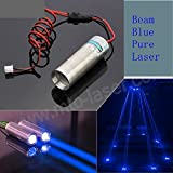 cutting laser module - 3.6-4.2V 450NM 100mW Pure Blue Diode Laser Dot Module for Beam Bar KTV Laser Light w/Long Time Working