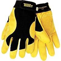 Mechanics Gloves, Black/Gold, XL, PR, TIL1475XL