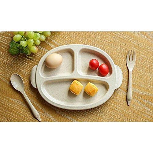 【値下げ】 IDテーブルウェアプレート子供テーブルウェアセットプレートスプーンフォーク、セットの3   B06XHPSR7B, 珠洲郡:4fcc1ba7 --- a0267596.xsph.ru