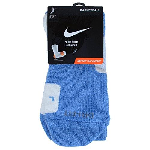 Nike Unisex Adult Elite Basketball Crew SMLX Sock Blue / White uHeCuxY4Ij