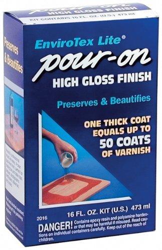 Environmental Technology 16-Ounce Kit Lite Pour-On, High Gloss Finish Size: 16 Ounces Model: 2016