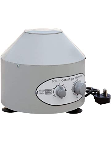 BDFA Centrífuga Eléctrica De 220 V Laboratorio De Práctica Médica Temporizador De La Máquina Centrífuga 4000