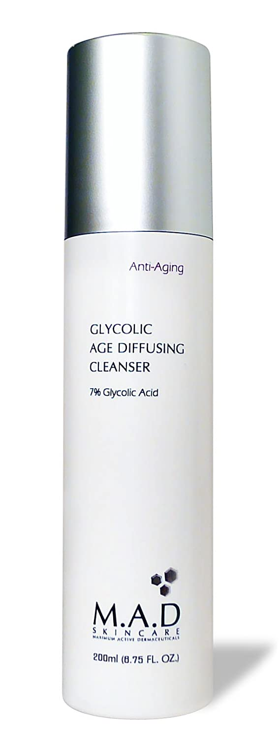 M.A.D Skincare Anti-Aging Glycolic Age Diffusing Cleanser 6.75 fl. oz.