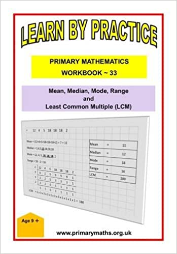amazon learn by practise primary mathematics workbook 33 mean