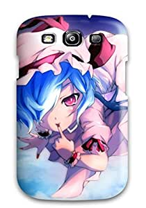 New Premium Flip Case Cover Video Games Touhou Vampires Remilia Scarlet Skin Case For Galaxy S3