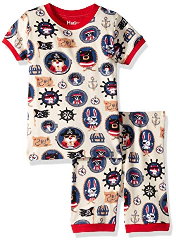 Pirate Pajamas For Toddlers - Hatley Boys' Little Organic Cotton Short