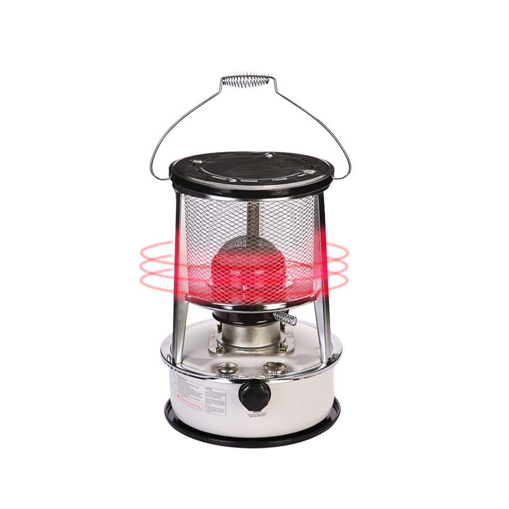 Augneveres Estufa calefactora portátil, Estufa de Queroseno para calefacción Interior y calefacción para Acampar al Aire Libre (7800-8900 Kcal/Hora) Alta ...