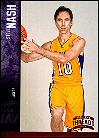 3fba6bb8ab1 Amazon.com  2012-13 Panini Threads  116 Steve Nash NM-MT Los Angeles ...