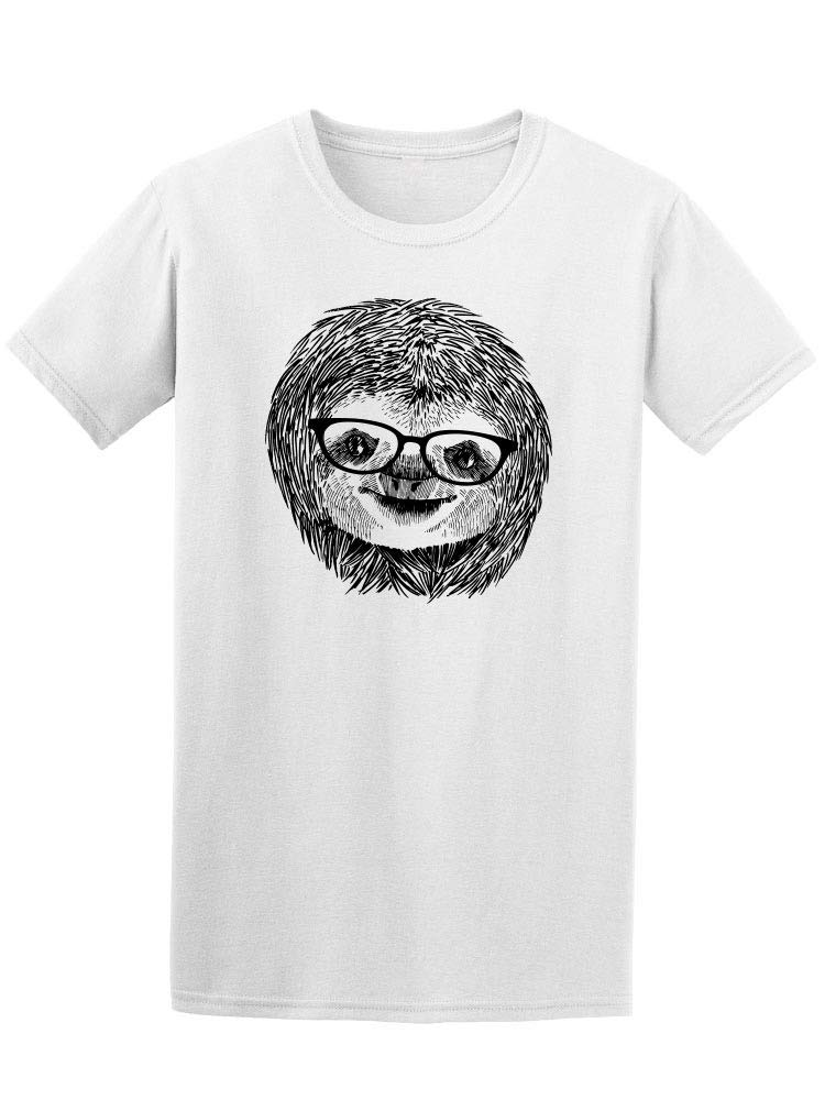 Vintage Sloth With Sunglasses Tee Men's -Image by Shutterstock