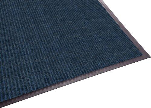 (Guardian Golden Series Dual-Rib Indoor Wiper Floor Mat, Vinyl/Polypropylene, 3'x6', Blue)