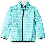Helly Hansen Kids & Baby Barrier Down Insulator Lightweight Packable Jacket, Reversible Color Option Coat, 435 Pool Blue, Size 8