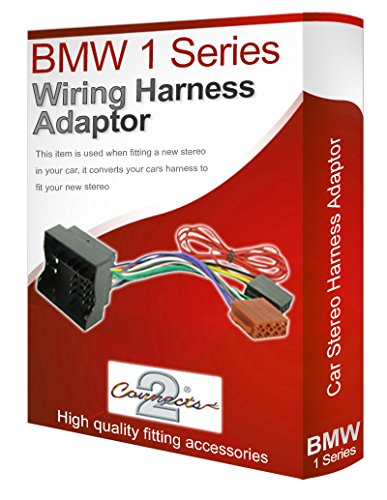 Radio stereo wiring harness adapter lead loom ISO: Amazon.co.uk: Electronics