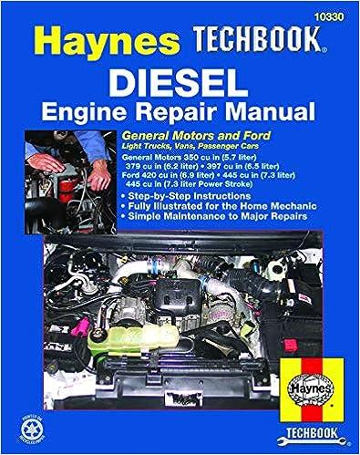 engine repair diagram ford   gm diesel engine repair haynes techbook  haynes repair  ford   gm diesel engine repair haynes