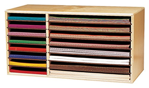 Childcraft Construction Paper Holder, 29-3/8 x 12-3/4 x 15 Inches