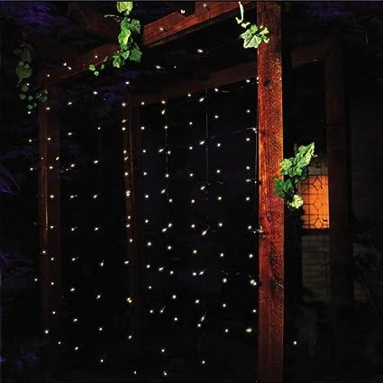Premier bombilla 160 luces metal works Red - transparente: Amazon ...