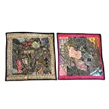 Mogul Sequin Cushion Cover Zari Embroidery Square Pillow Cases Home Décor