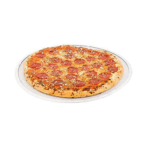 Mesh Pizza Screen, Aluminum Pizza Screen - 16 Inches - Commercial Grade Pizza Screen - 1ct Box - Met Lux - Restaurantware by Restaurantware