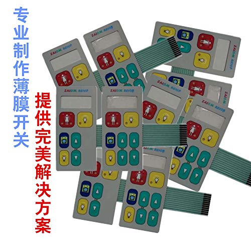 Computer Cables Custom-Made PC/PET/PVC Membrane Control Switch Panel Keyboards for Industrial Equipment/Membrane Switch Panel - (Cable Length: Other)
