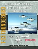 Lockheed T-33 Thunderbird / Shooting Star Pilot's Flight Operating Manual, United States Air Force, 1935327518