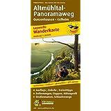 Altmühltal-Panoramaweg, Gunzenhausen - Kelheim: Wanderkarte Leporello mit Ausflugszielen, Einkehr- & Freizeittipps und Schlaufenwegen, wetterfest, ... 1:50000 (Leporello Wanderkarte / LEP-WK)