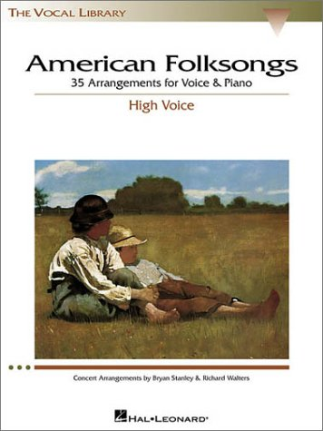 - American Folksongs - High Voice (The Vocal Library Series)