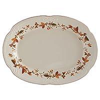 Pfaltzgraff Autumn Berry Oval Platter, 14-3/4-Inch x 11-Inch